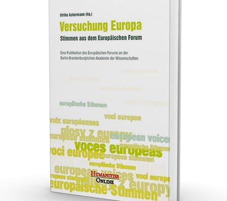 Buchtitel Versuchung Europa