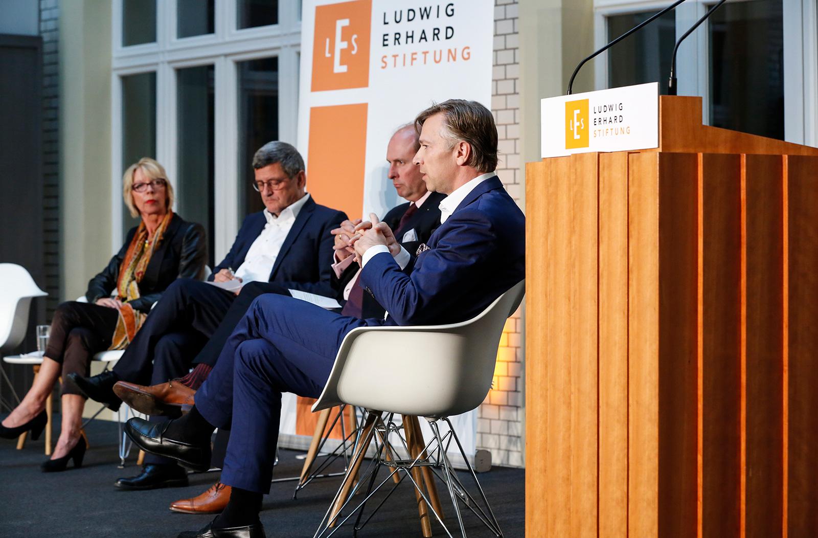 © Ludwig-Erhard-Stiftung / Fotos: Dirk Hasskarl