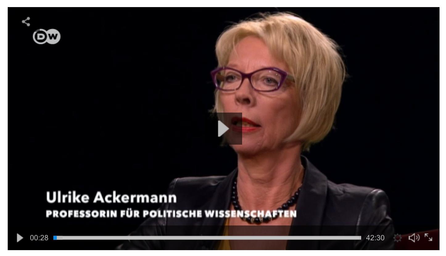 Videolink Auf ein Wort im Gespräch mit Michel Friedmann